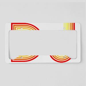 DJ License Plate Holder