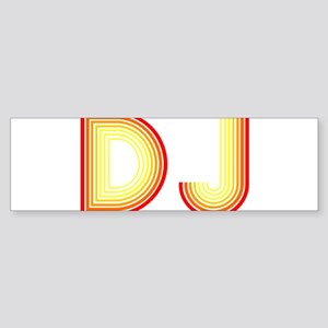 DJ Bumper Sticker