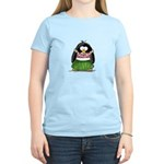 Hula Penguin Women's Light T-Shirt