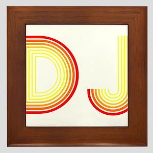 DJ Framed Tile