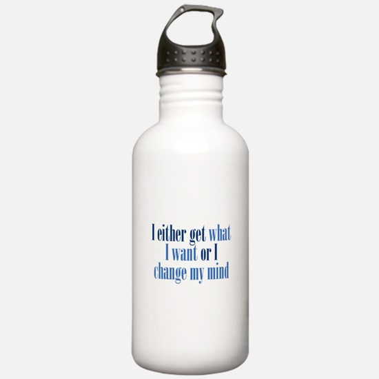Change My Mind Water Bottle