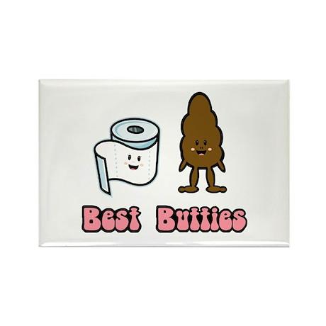 Best Butties Rectangle Magnet