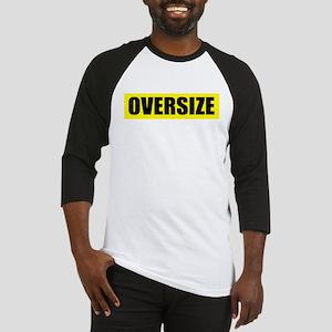 'Oversize' Baseball Jersey