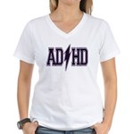 AD/HD Women's V-Neck T-Shirt
