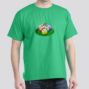 9-ball rack Dark T-Shirt