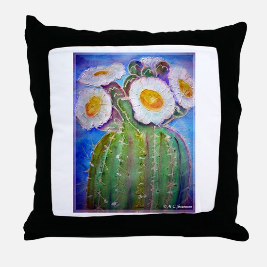 Cactus, awesome, Throw Pillow