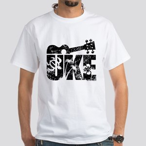 The Uke White T-Shirt