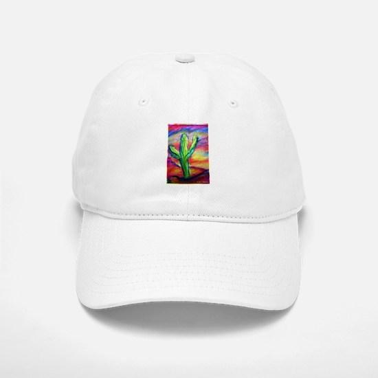Cactus, Colorful, Baseball Baseball Cap