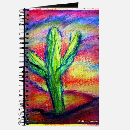 Cactus, Colorful, Journal