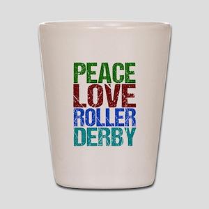 Roller Derby Shot Glass