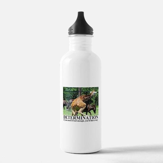Cute Determination Water Bottle