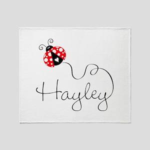 Ladybug Hayley Throw Blanket