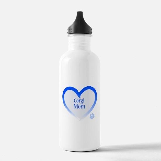 Unique Welsh corgi cardigan Water Bottle