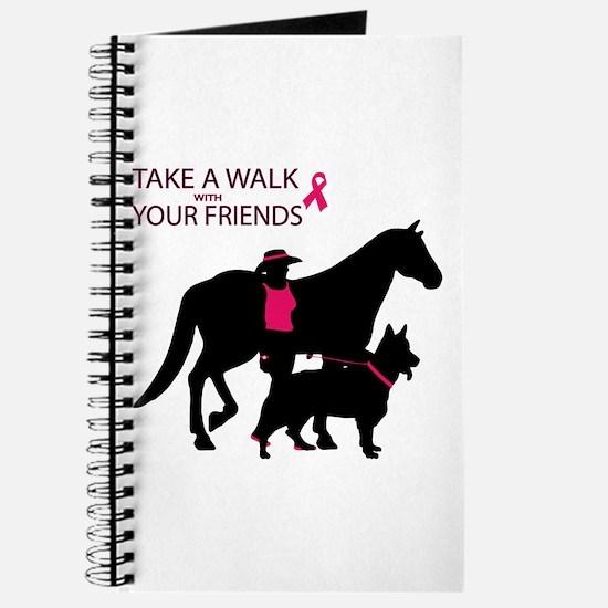 Unique Think pink Journal