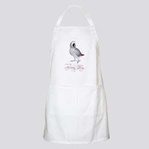 i love my african grey BBQ Apron