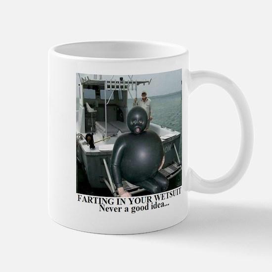 Cute Wetsuit Mug