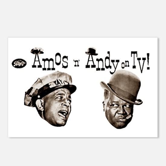 Amos 'n' Andy Postcards (Package of 8)