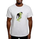 Green Dragon Puppy Light T-Shirt