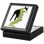 Green Dragon Puppy Keepsake Box