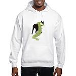 Green Dragon Puppy Hooded Sweatshirt