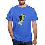 Green Dragon Puppy Dark T-Shirt