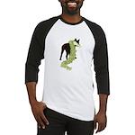 Green Dragon Puppy Baseball Jersey