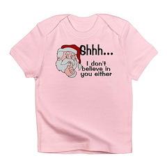Santas Secret Infant T-Shirt