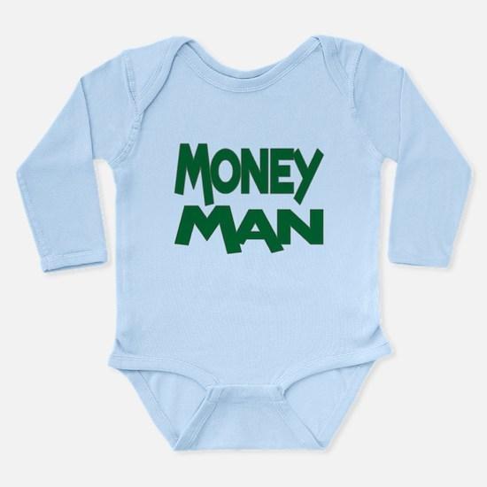 Money Man Long Sleeve Infant Bodysuit