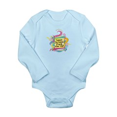 F Up Cancer Long Sleeve Infant Bodysuit