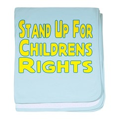 Childrens Rights baby blanket