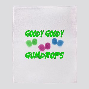Goody Gumdrops Throw Blanket