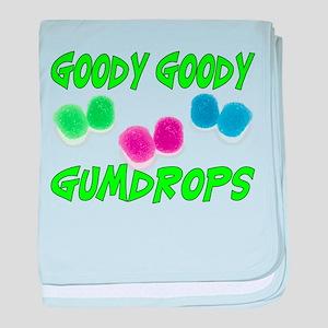 Goody Gumdrops baby blanket