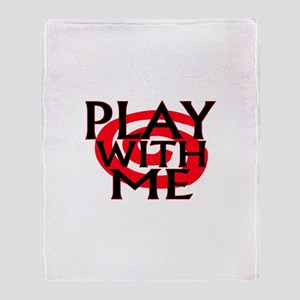 Play With Me Throw Blanket