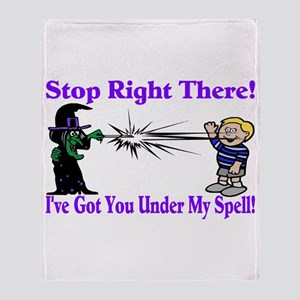Spell On You Throw Blanket