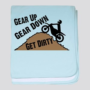 Get Dirty baby blanket