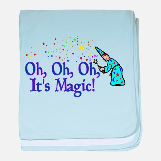 It's Magic baby blanket