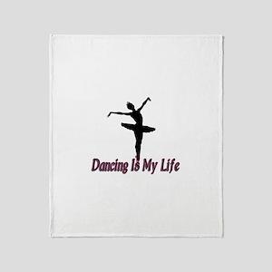 Dancing Life Throw Blanket