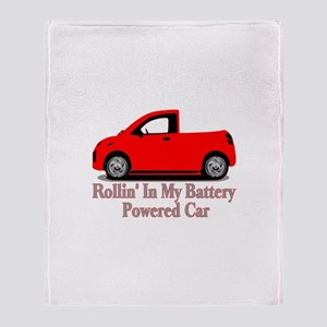 Battery Powered Car Throw Blanket