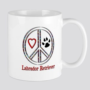 Peace Love Lab Mug