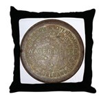 Original Meter Cover Throw Pillow