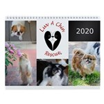 Luvachin Rescue 2020 Wall Calendar