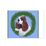 Christmas Cocker Spaniel Postcards (Package of 8)