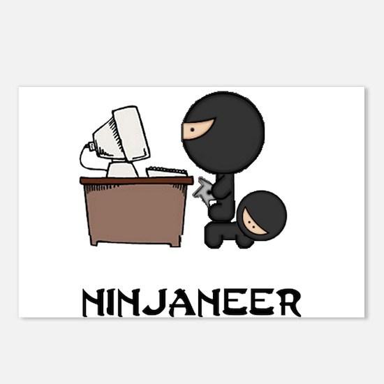 Unique Ninja Postcards (Package of 8)