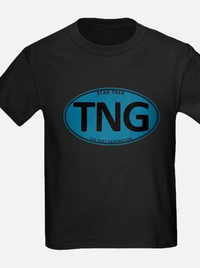 Star Trek: TNG Blue Oval T