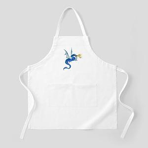 Blue Dragon Apron