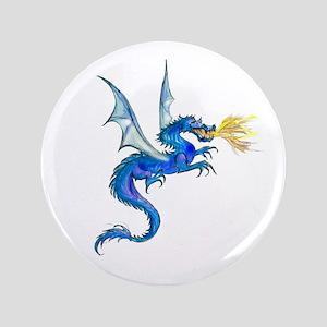 "Blue Dragon 3.5"" Button"
