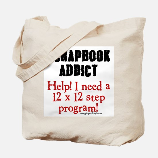12 x 12 Step Program Tote Bag