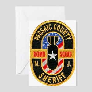 Passaic Sheriff Bomb Squad Greeting Card