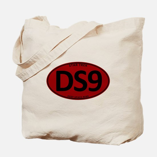 Star Trek: DS9 Red Oval Tote Bag