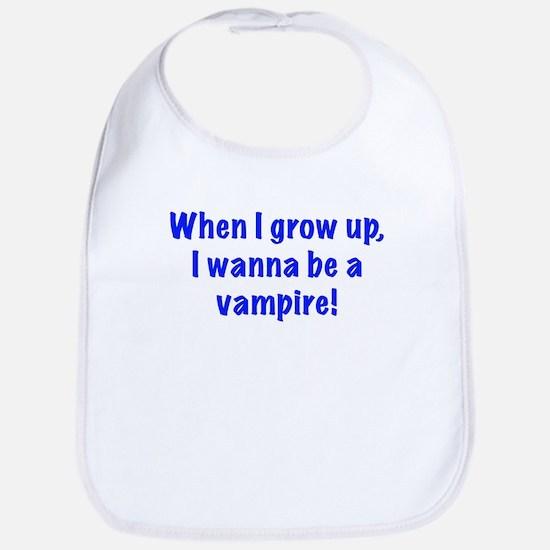I wanna be a vampire Bib